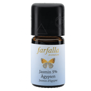 Farfalla essential oil Jasmine Egypt 5% (95% alc.) absolute (5ml)