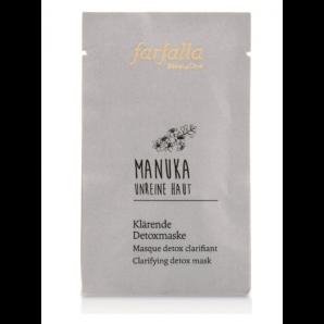Farfalla Manuka Unreine Haut Klärende Detoxmaske (7ml)