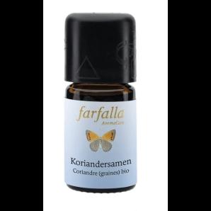 Farfalla Ätherisches Öl Koriandersamen bio Grand Cru (5ml)