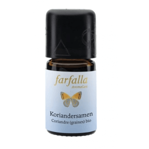 Farfalla essential oil coriander seeds organic Grand Cru (5ml)