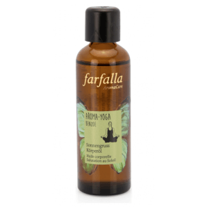 Farfalla Body Oil Sun Salutation Yoga Benzoin (75ml)