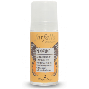 Farfalla Citrus Deodorant Roll-on Mandarine (50 ml)