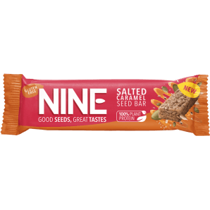 NINE Salted Caramel Bar (20x40g)