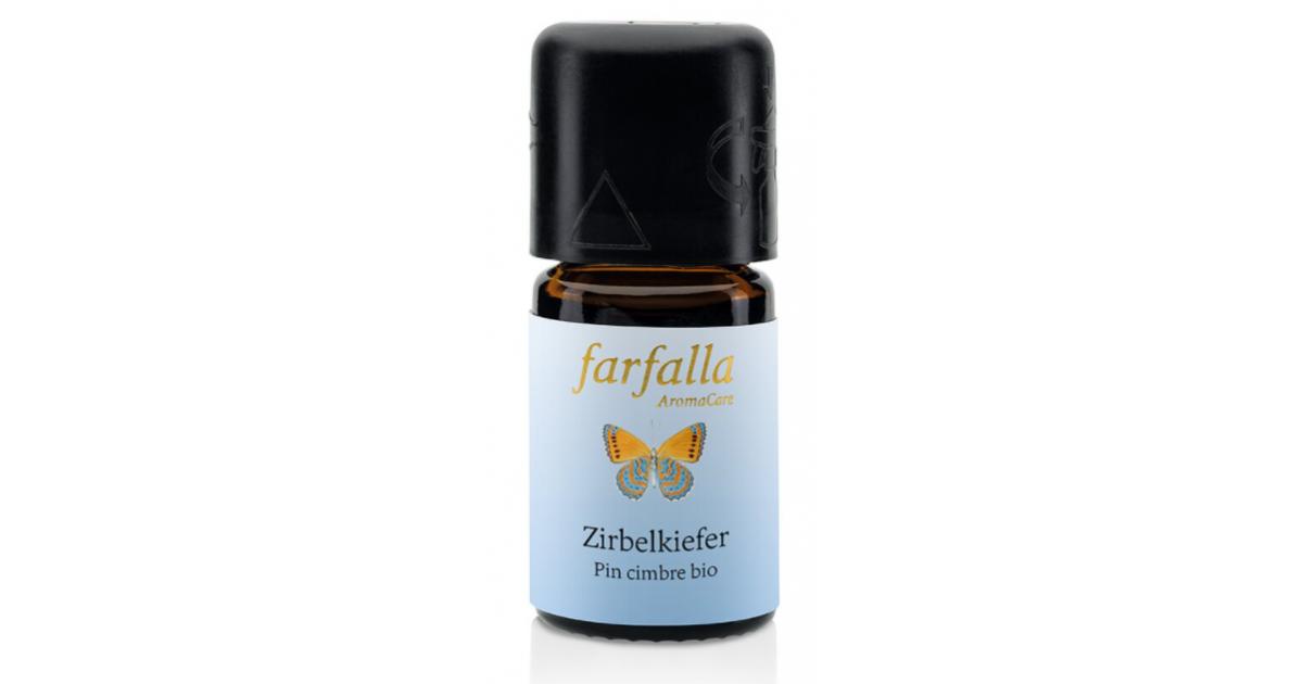 Farfalla Ätherisches Öl Zirbelkiefer (Arve) Bio Wildsammlung (5ml)