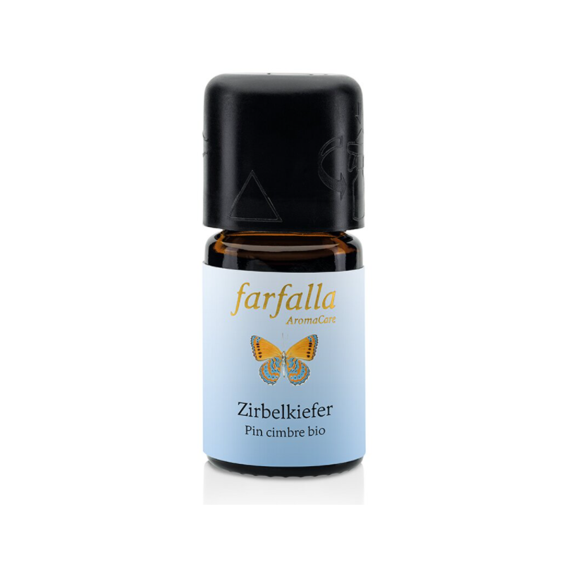Farfalla Essential Oil Swiss Stone Pine Organic Wild Collection (5ml)
