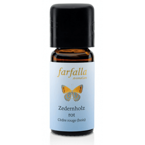 Farfalla Essential Oil Cedarwood Red (10ml)