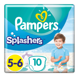 Pampers Splashers size 5-6 carry pack (10 pieces)