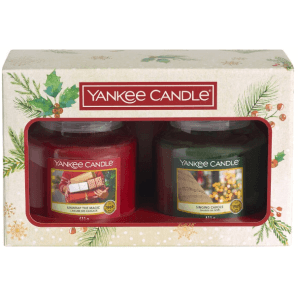 Yankee Candle Christmas Morning gift set 2 pieces (medium)