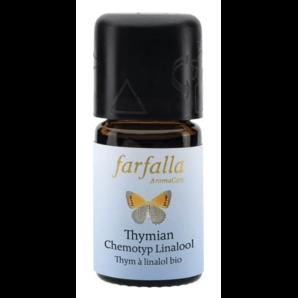 Farfalla Thymian Chemotyp Linalool Ätherisches Öl Bio (5ml)