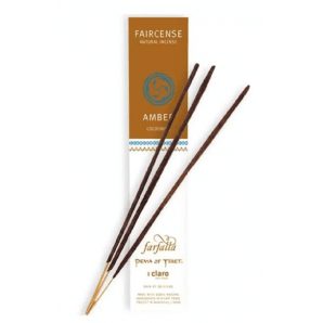 Farfalla Faircense Incense Sticks Amber Cocooning (10 Pieces)