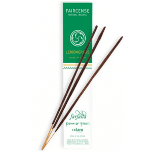 Farfalla Faircense Incense Sticks Lemongrass Relax On Earth (10 Pieces)