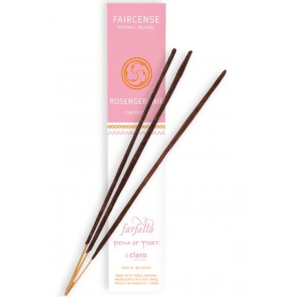 Farfalla Faircense Incense Sticks Rose Geranium Comforting (10 Pieces)