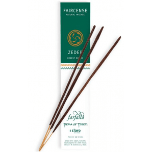 Farfalla Faircense Incense Sticks Cedar Forest Breeze (10 Pieces)
