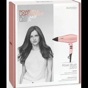 BaByliss Powerful Lightweight Rose Hairdryer (2200 watts)