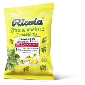 Ricola lemon balm sweets without sugar (125g)