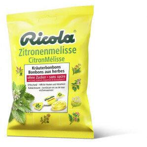 Ricola - Zitronenmelisse Bonbons ohne Zucker (125g)