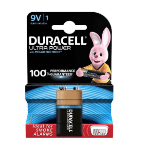 DURACELL Ultra Power 6LR61 / MX1604 / 9V (1 pc)