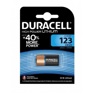 DURACELL High Power Lithium CR123A / CR17345 / 3V (1pc)