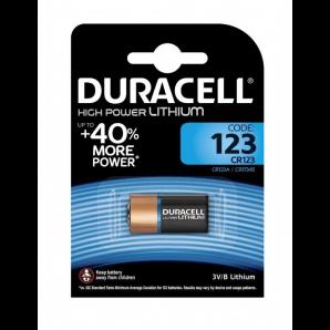 DURACELL High Power Lithium CR123A / CR17345 / 3V (1Stk)