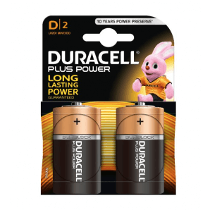 DURACELL Plus Power MR20 / MN1300 / D (2 pieces)