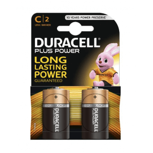 DURACELL Plus Power LR14 / MN1400 / C (2 pieces)