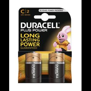 DURACELL Plus Power LR14 / MN1400 / C (2 Stk)