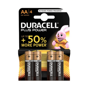 DURACELL Plus Power LR6 / MN1500 / AA (4 pieces)