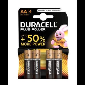 DURACELL Plus Power LR6 / MN1500 / AA (4 Stk)
