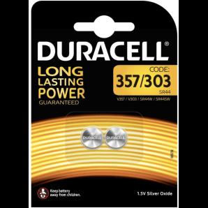 DURACELL 357 / 303 / SR44 / 1,5V (2 Stk)