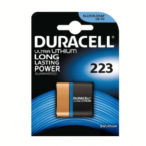 DURACELL Ultra Power Lithium 223 / 6V Lithium (1 Stk)
