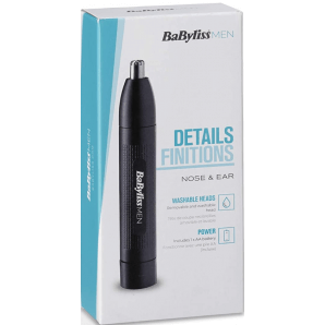 BaByliss MEN Nose and Ear Hair Trimmer
