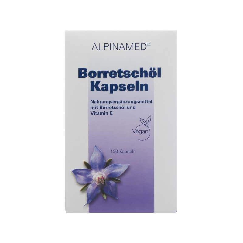 Alpinamed Borretschöl Kapseln (100 Stk)