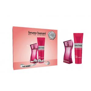 Bruno Banani PURE Women X Mas 2020 Eau De Toilette (20ml) / Shower Gel (50ml)