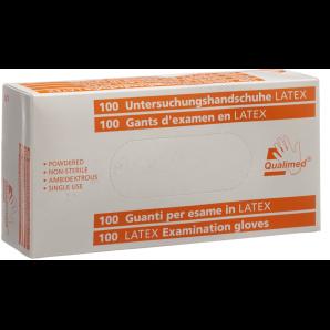 Qualimed Untersuchungshandschuhe Latex S gepudert (100 Stk)