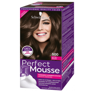 Schwarzkopf Perfect Mousse 500 Medium Brown (1 pc)