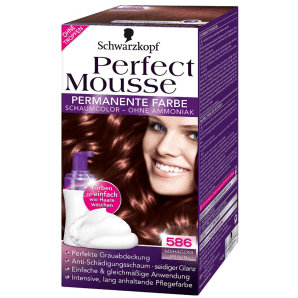 Schwarzkopf Perfect Mousse 586 Mahogany Brown (1 pc)