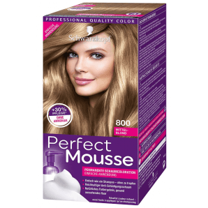 Schwarzkopf Perfect Mousse 800 Medium Blonde (1 pc)