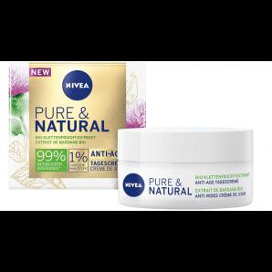 Nivea Pure & Natura la crème de jour anti-âge (50ml)