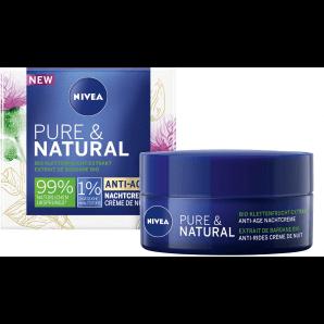 Nivea Pure & Natural Anti-Age Nachtcreme (50ml)