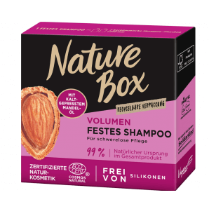 Nature Box Festes Shampoo Mandel (85g)