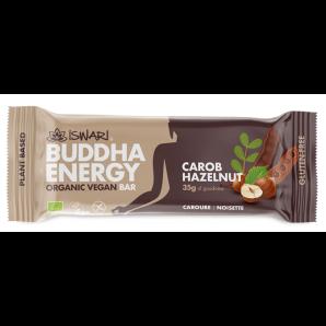 ISWARI Buddha Energy Organic Bar Carob & Hazelnut (35g)