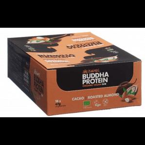 ISWARI Buddha Energy Organic Bar Cocoa & Almond (15x47g)