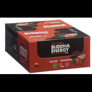 ISWARI Buddha Energy Organic Bar Cocoa & Guarana (15x35g)