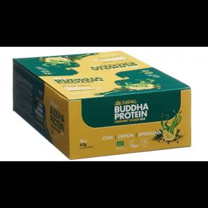 ISWARI Buddha Energy Organic Chia & Lemon & Spirulina Bar (15x47g)