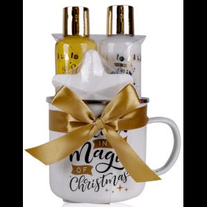 Accentra bath set WINTER MAGIC enamel mug (4 pieces)