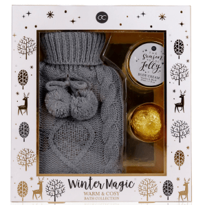 Accentra Wellness Set Bouillotte WINTER MAGIC (3 pièces)