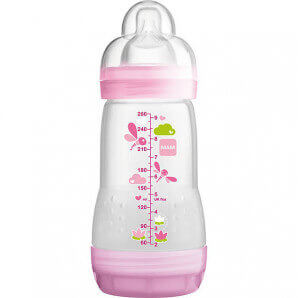 MAM Easy Start Anti-Colic Bottle Girl (260ml)