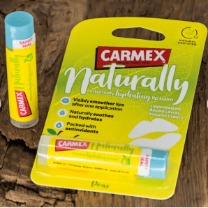 Carmex Lip Balm Naturally Pear Stick (4.25g)