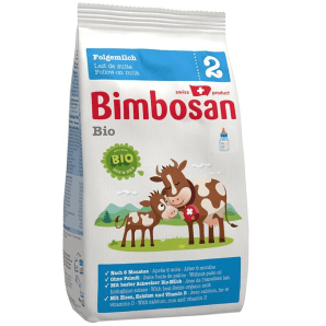 Bimbosan Bio 2 follow-on milk refill (400g)