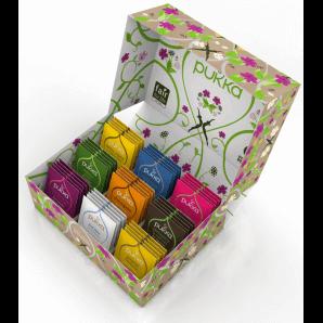 Pukka Selection Box Organic Tea 2020 français (45 sachets)